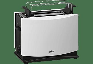 braun toaster ht 450 wei mediamarkt. Black Bedroom Furniture Sets. Home Design Ideas