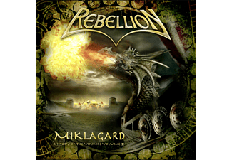 Rebellion - Miklagard - (CD)