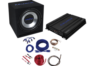 CRUNCH CBP 1000 Car-HiFi-Set Basspaket 4-Kanal Soundsystem