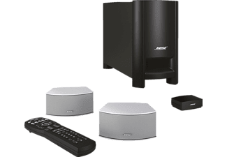 bose 2 1 heimkino system cinemate gs silber mediamarkt. Black Bedroom Furniture Sets. Home Design Ideas