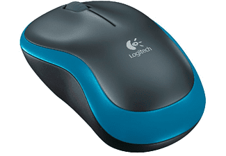 LOGITECH Wireless Maus M185 blau