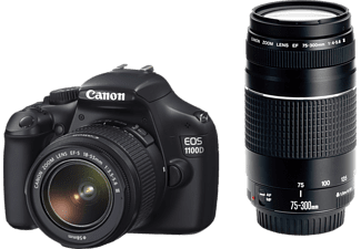 CANON EOS 1100D+18-55mm+75-300mm