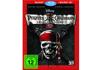 Pirates of the Caribbean - Fremde Gezeiten [3D Blu-ray]
