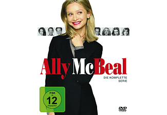 Ally McBeal - Staffel 1-5 (Komplette Serie) - (DVD)