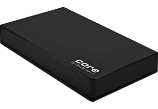 "CNMEMORY 2,5""-750 GB USB 3.0 Core Black"