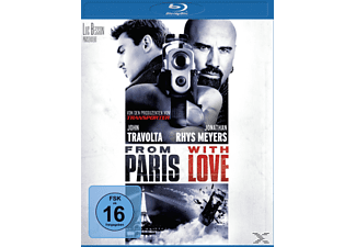 From Paris With Love - (Blu-ray)