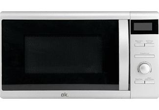 ok omw 320 d s mikrowelle silber digital grill online kaufen bei mediamarkt. Black Bedroom Furniture Sets. Home Design Ideas