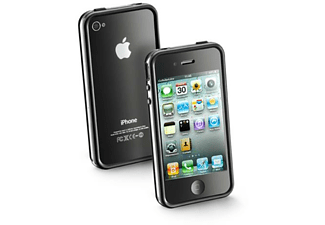 Bumper Case iPhone 4 Zwart