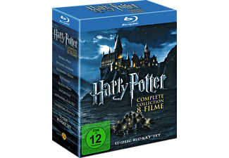 Harry Potter - The Complete Collection (Box Set) - (11 Blu-ray)