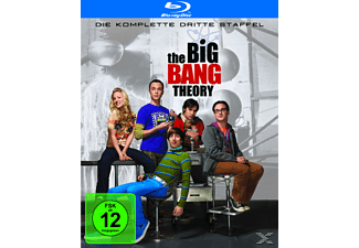 The Big Bang Theory - Die komplette 3. Staffel Komödie Blu-ray