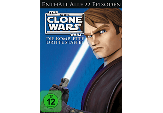 Star Wars: The Clone Wars - Staffel 3 [DVD]