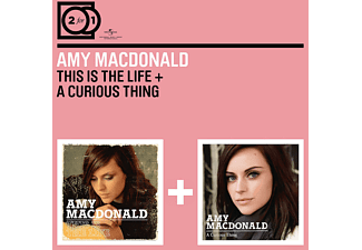 Amy Macdonald 2 for 1: This Is the Life/a Curious Thing Rock CD