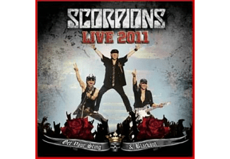 The Scorpions - Get Your Sting & Blackout (Live 2011) [CD]
