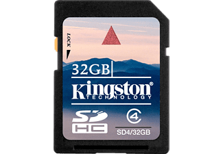 KINGSTON SD4/32GB Consumer SDHC Class 4 Card