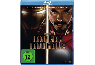 Iron Man + Iron Man 2 - Collector's Edition (Softbox) [Blu-ray]