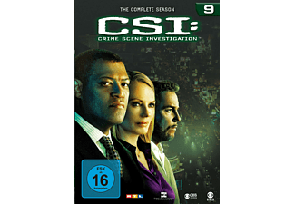 CSI: Crime Scene Investigation - Staffel 9 Krimi DVD