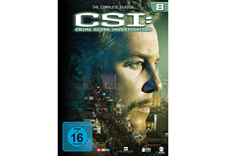 CSI: Crime Scene Investigation - Staffel 8 Krimi DVD