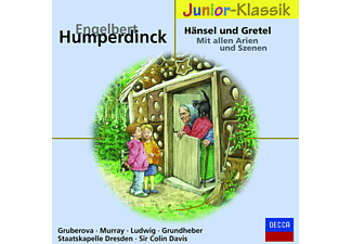 Gruberova/Jones/Davis/SD - Hänsel & Gretel (Qs) (Eloquence Junior) - (CD)