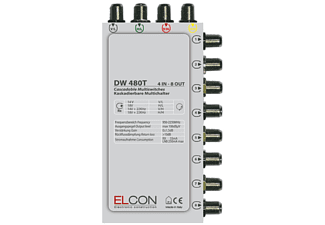 ELCON DW 480 T 4IN8 OUT MULTISCHALTER 0DB