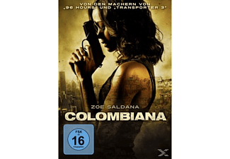 COLOMBIANA Action DVD