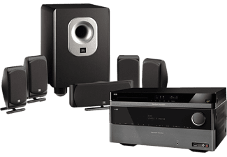 harman kardon 5 1 heimkino system hd stage 200 ii schwarz. Black Bedroom Furniture Sets. Home Design Ideas