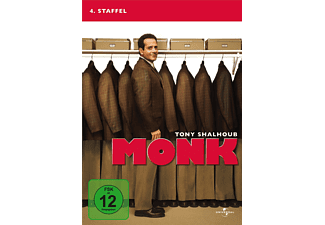 Monk - Staffel 4 [DVD]