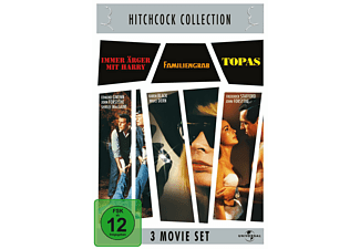 Hitchcock Collection: Immer Ärger mit Harry / Familiengrab / Topas (3 Movie Set) [DVD]