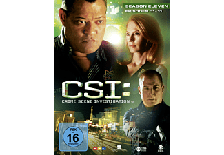 CSI: Crime Scene Investigation - Staffel 11.1 [DVD]