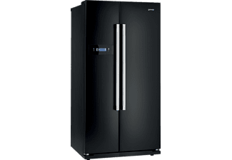GORENJE NRS85728BK (Spektrum: A+++ - D) A+ Side-by-Side (445 kWh, A+, 1755 mm hoch, Schwarz)