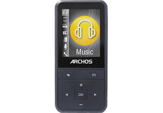 ARCHOS Media-Player 18B Vision 8 GB, MP4-Player, 8 GB, Akkulaufzeit: 18.5 Stunden, Anthrazit