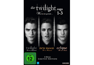 Die Twilight Saga 1-3  Fan Edition (3 DVDs) - (DVD)