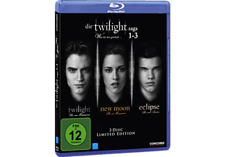 Die Twilight Saga 1-3 - (Blu-ray)
