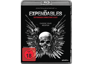 The Expendables Extended Version Action Blu-ray
