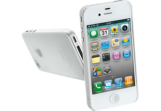 035 Ultra Slim Transparant Cover iPhone 4 Wit