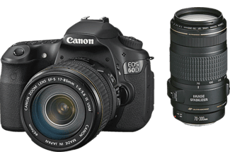 CANON EOS60D + 17-85mm + 70-300mm