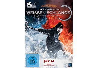 Die Legende der Weißen Schlange - The Sorcerer and the White Snake Fantasy DVD