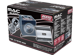 MAC-AUDIO Xtreme 4000 Car HiFi Package ()