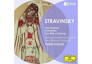 Pierre Boulez, The Cleveland Orchestra, Chicago Symphony Orchestra - Der Feuervogel/Petruschka/The Rite Of Spring [CD]