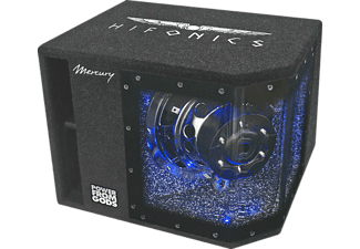 HIFONICS MR10BP, Single Gehäusesubwoofer, Anthrazit