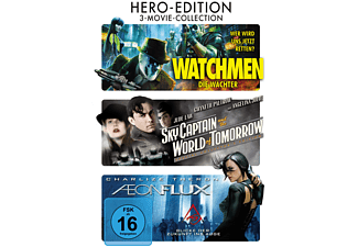 Hero-Edition: Watchmen / Sky Captain / Aeon Flux [DVD]