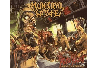 Municipal Waste - The Fatal Feast-Waste In Space [CD]