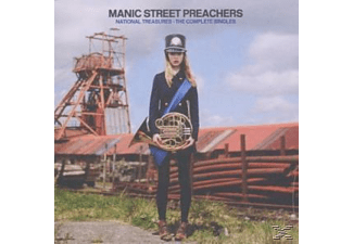 Manic Street Preachers - National Treasures-The Complete Singles [CD]