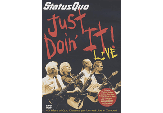 Status Quo - JUST DOIN IT! - LIVE [DVD]