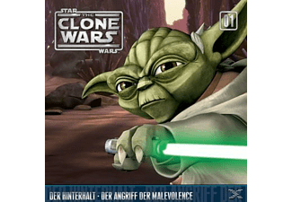- Star Wars - The Clone Wars 01: Der Hinterhalt / Der Angriff der Malevolence - (CD)