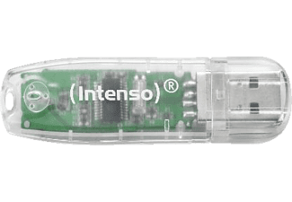 INTENSO 3502480 Rainbow Line USB-Stick 32 GB