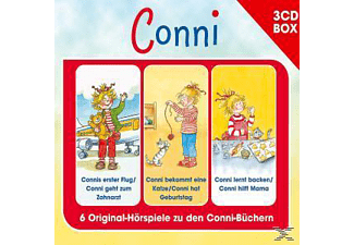 Conni - Conni-3-Cd Hörspielbox Vol.4 - (CD)