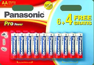 PANASONIC LR6PPG/10BW AA Mignon Batterie, 10 Stück