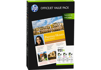 HP 951XL Officejet Value Pack Cyan - Magenta - Jaune (CR712A)