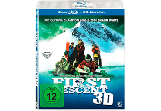 First Descent - The Story of the Snowboarding Revolution (3D) - (3D Blu-ray)