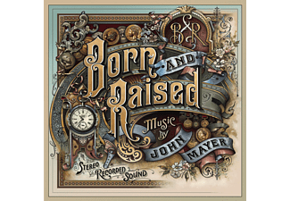 John Mayer - Born And Raised - (CD)